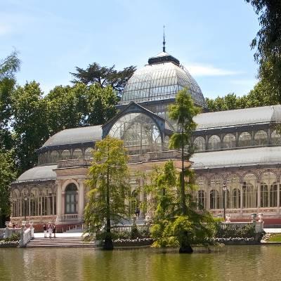 Free Tour Logroño de los Borbones - visita guiada gratis madrid de los borbones Palacio de Cristal