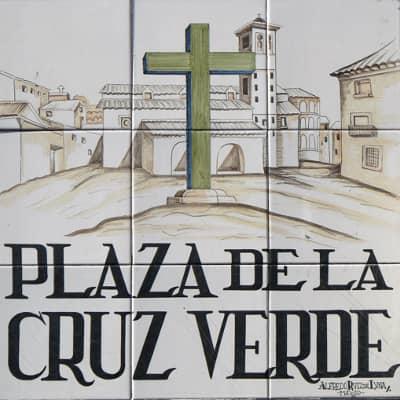 Tour Leyendas y Misterios Logroño - Plaza de la cruz verde